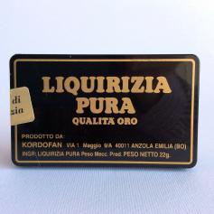 Tronchetti Liquirizia Pura Qualita' Oro 22 Gr