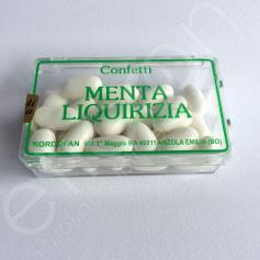 Confetti Menta Liquirizia 30 Gr