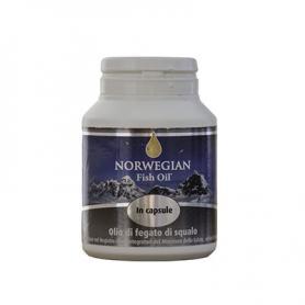 Norvegian Fish Oil Olio Di Fegato Di Squalo 120 Capsule