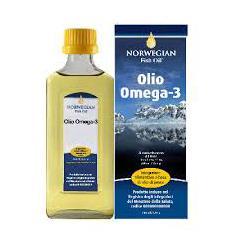 Norwegian Fish Oil Olio Omega 3 Liquido 240 ml