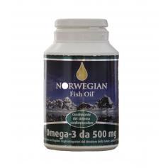 Norwegian Fish Oil Omega 3 Capsule 500 Mg