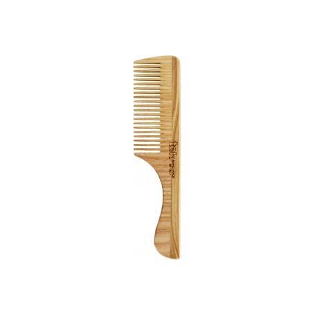 Tek Pettine Grande A Denti Fitti Con Manico 20x4,5 cm