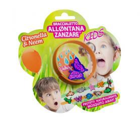 Braccialetto Allontana zanzare Kids 240 Ore