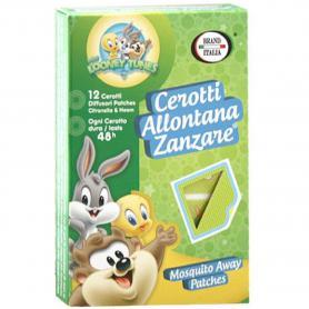 Brand Italia Cerotti Allontana Zanzare Baby Looney Tunes 12 Pezzi