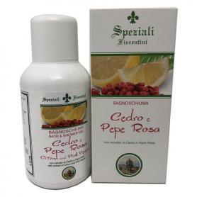 Derbe Speziali Fiorentini Bagnoschiuma Cedro e Pepe Rosa 250 ml