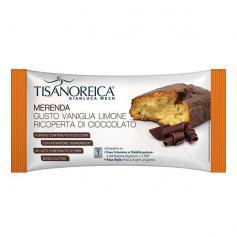 Tisanoreica Vita Merenda Gusto Vaniglia Ricoperta Cioccolato 50 Gr