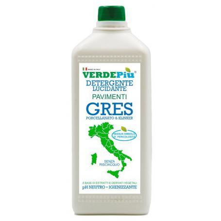 Verdepiù Detergente Lucidante Pavimenti Gres 1 Kg