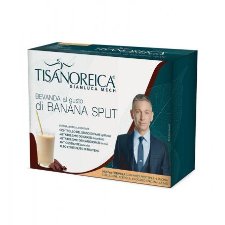 Tisanoreica Nuova Formula Bevanda Gusto Banana Split Senza Glutine