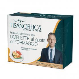 Tisanoreica Nuova Formula Preparato Omelette Gusto Formaggio Senza Glutine