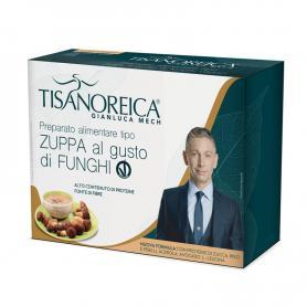 Tisanoreica Nuova Formula Zuppa di Funghi Vegan Senza Glutine