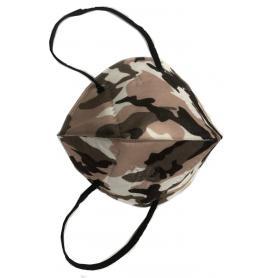 Mascherina FFP2 Imbustata Singolarmente Camouflage Registrata CE