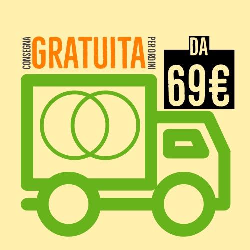 Spedizione gratuita da 69€